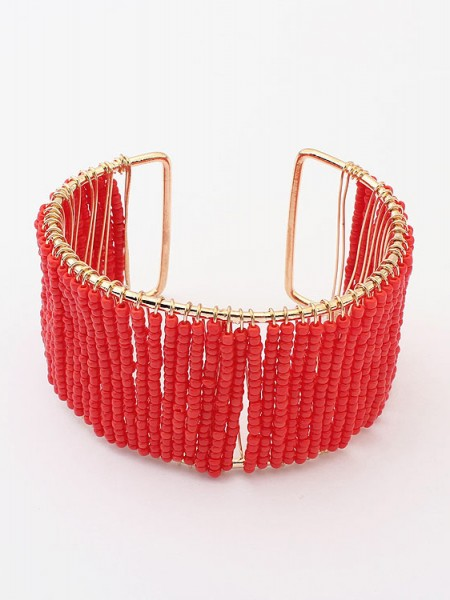 Occident Summer Handwork Beaded opening Hot Sale Bracelet