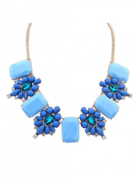 Occident Simple Stylish all-match Gemstone Hot Sale Necklace