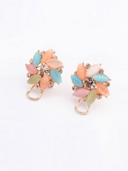 Occident Fashionable Boutique Collision Color Hot Sale Ear Clip