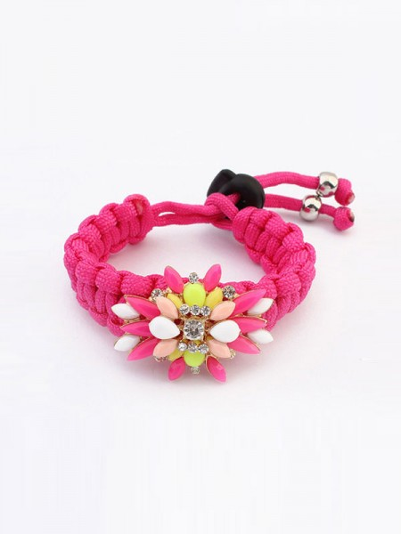 Occident Candy Colors All-match Woven Hot Sale Bracelets